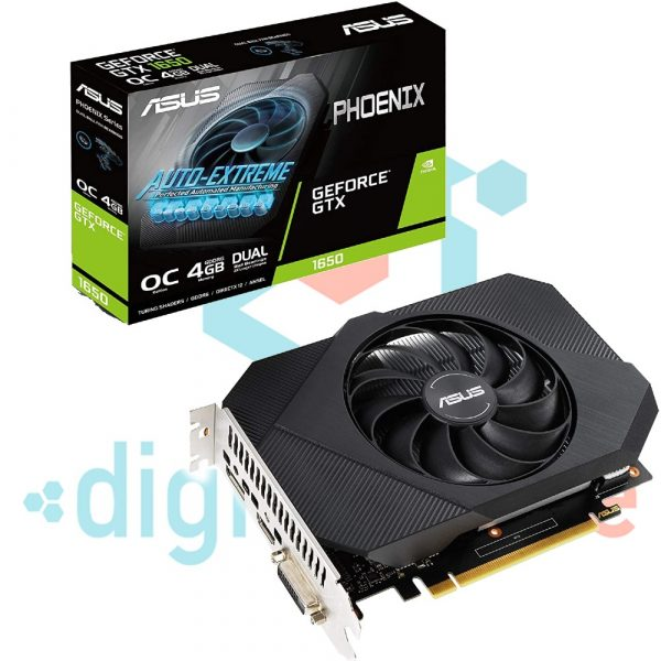 digital-store-TARJETA GRÁFICA ASUS PHOENIX NVIDIA GEFORCE GTX 1650 OC EDITION - (PCIE 3
